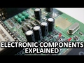 Capacitors, Resistors, and Electronic Co