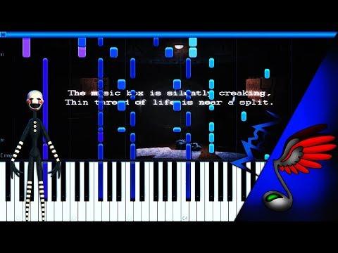 Sayonara Maxwell - Five Nights at Freddy's 2 [PIANO TUTORIAL by MicroNoize]