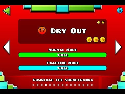 Geometry Dash - Level 4:Dry Out (All Coins)