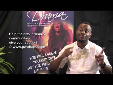 GWTDrama Ministry Actor Charles Jackson from Detroit, Michigan