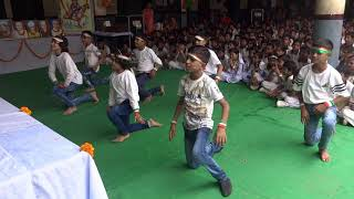 Mera Juta h Japani , Jai ho , chak de India, and Bande Matram mix song Dance performance