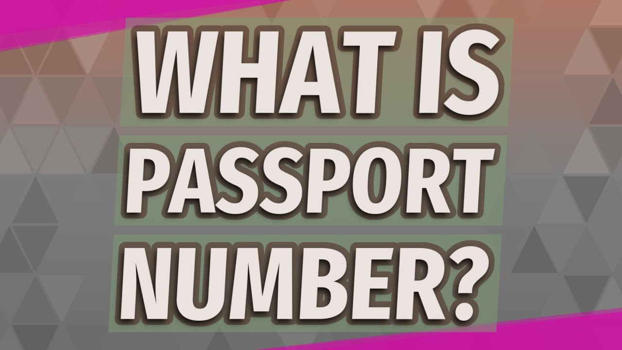 What is passport number?