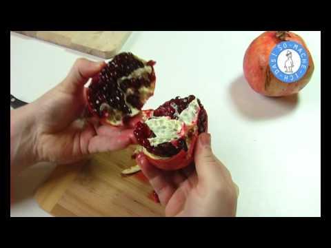 Youtube Granatapfel Schälen