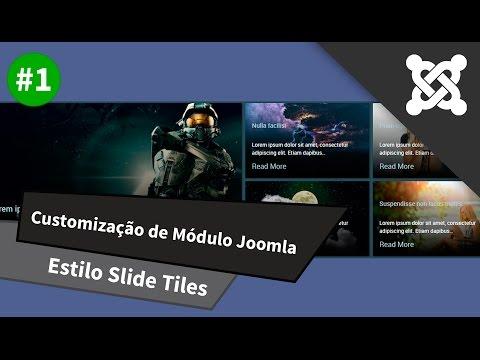 Customização De Módulo Joomla - Estilo Slide Tiles - Parte 1