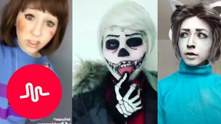 *NEW* Undertale Musical.ly Cosplay Compilation 2017 [Part 3 ish]