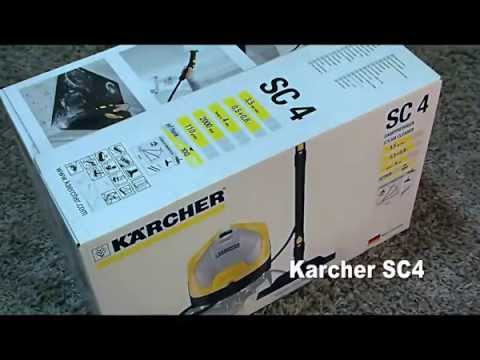 Kärcher SC4 Continuous Steam Cleaner Test