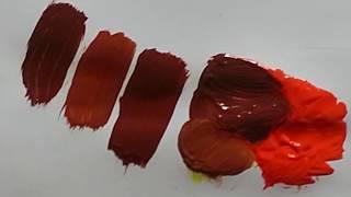Comment Faire Du Marron En Peinture Youtube