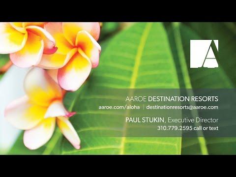 Aaroe Destination Resorts presents: Kukui'ula