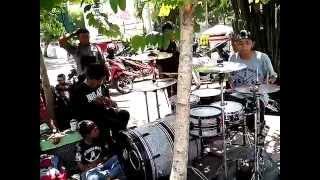 STREET DRUM SIDOARJO 2014 new gigs at padestrian bank jatim sidoarjo