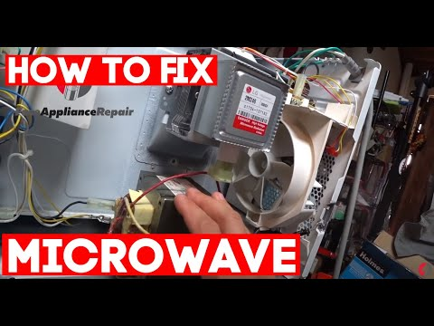 how to fix microwave and diagnostic keep blows fuse or doesn t heat