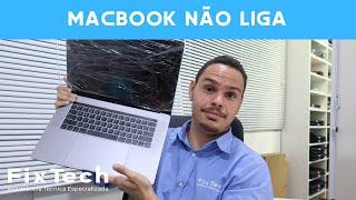 MacBook Pro TouchBar Não Liga | Mac parou de Ligar do Nada | Como Reparar Seu MacBook