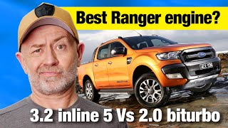 Buying a Ford Ranger: 3.2 Vs 2.0 twin turbo (plus nuts) | Auto Expert John Cadogan
