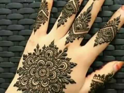 Latest mehndi designs for high society girls 2017