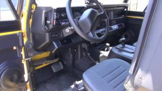 Land Rover Defender 90 JL Audio Upgrade by Monney
