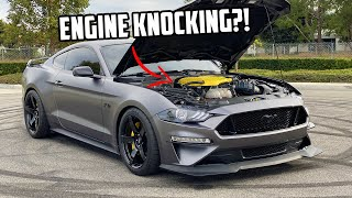 SOMETHING WENT WRONG FIRST DRIVE OF MY SUPERCHARGED MUSTANG GT!