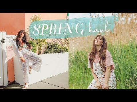 SPRING/SUMMER CLOTHING + ACCESSORIES HAUL 2019 (try-on)
