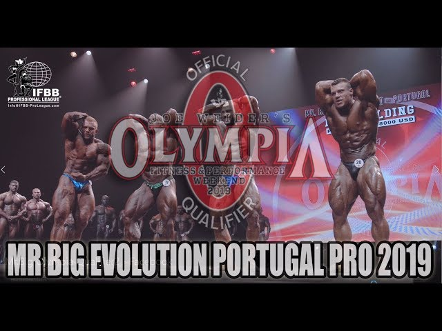 Mr Big Evolution Portugal Pro 2019
