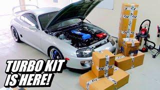 New Turbo kit For The Supra