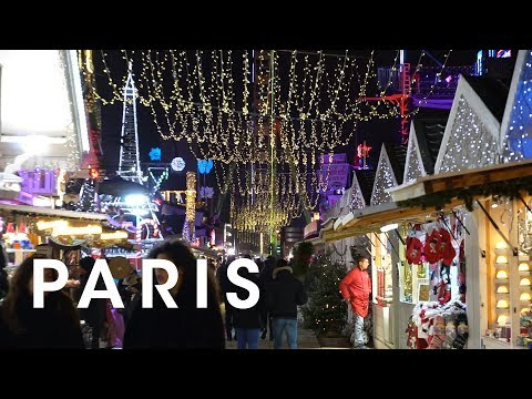 Christmas Lights And Invader Hunting In Paris - Christmas Lights In Paris 2018