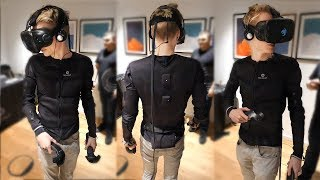 This Haptic Suit Lets You Touch and Feel Virtual Reality   Teslasuit