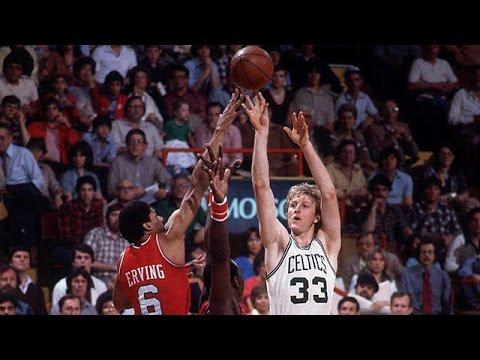 Larry Bird (23pt, 11reb, 5ast, 5stl, 3blk) vs 76ers 1981, Game 7 (Best Quality)