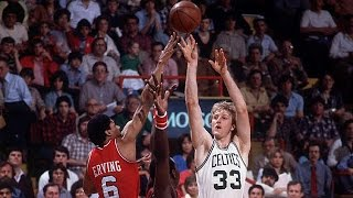 Larry Bird (23pt, 11reb, 5ast, 5stl, 3blk) vs 76ers 1981, Game 7 (Best Quality)
