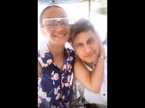 Влюбленные Ольга Бузова и Давид Манукян провели день на яхте )) ⛵⛵⛵