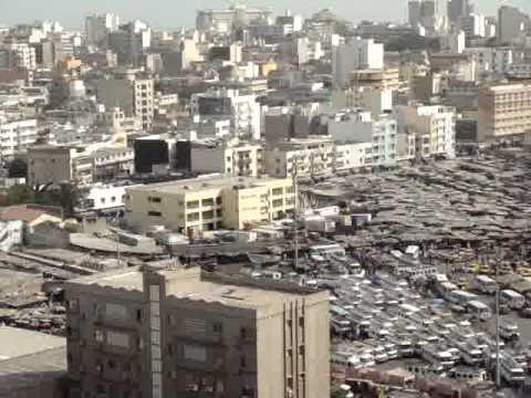 Dakar vu de la Grande Mosquée