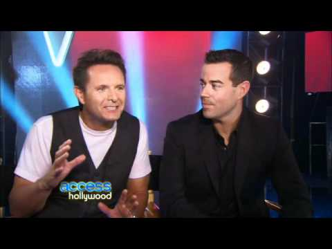 Carson Daly & Mark Burnett Interview with Access Hollywood