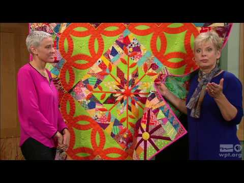 Sewing With Nancy - Double Wedding Ring Quilts, Part 1