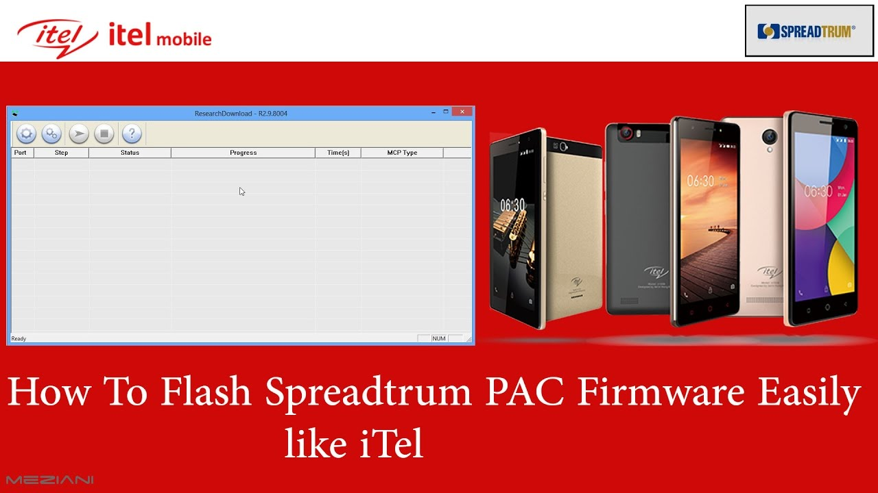 How to flash itel and Spreadtrum (SPD) Android Mobile