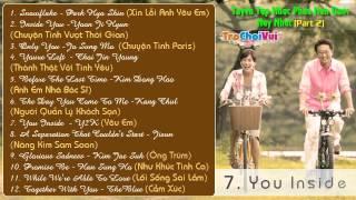 Tuyển chọn nhạc phim Hàn Quốc hay và lãng mạn nhất (Part 2)