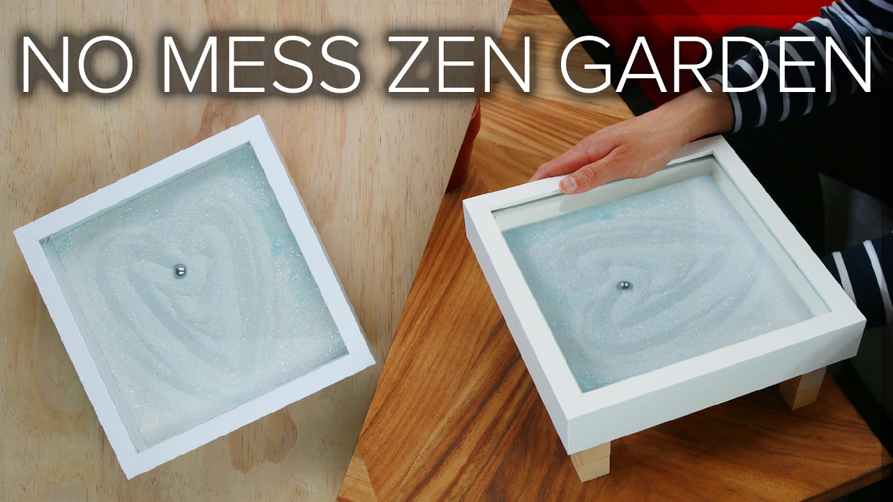 No Mess Zen Garden - YouTube