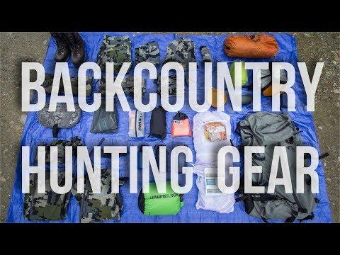 BEST BACKCOUNTRY HUNTING GEAR | Bag Dump