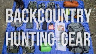 BEST BACKCOUNTRY HUNTING GEAR   Bag Dump