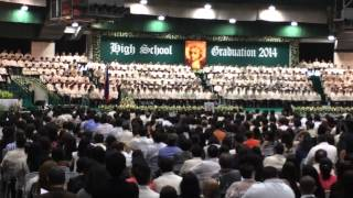 RV graduation, presentation of graduates, La Salle Green Hills, March 16, 2014