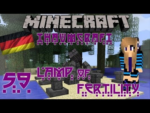 Minecraft - Thaumcraft Tutorial: Teil 59 Lamp of Fertility - YouTube