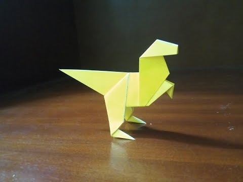 How To Make an Origami Dinosaur Step by Step | Paper Easy Dinosaur ... | 360x480