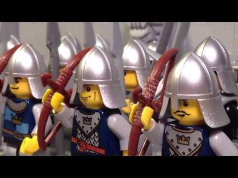 LEGO Lord of the Rings Clip. Breaking the Gate of Gondor