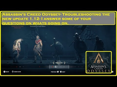 Assassin's Creed® Odyssey- Troubleshooting 1.12 thumbnail