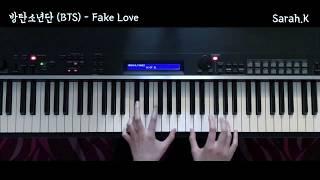 방탄소년단 (BTS) - Fake Love [Piano Cover]