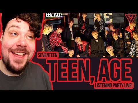 Mikey's Basement LIVE! SEVENTEEN - 'TEEN, AGE' Listening Party!! Come chat!