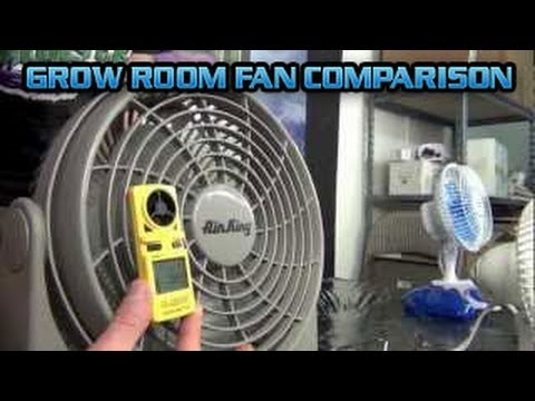 Grow Room Fan Comparison Test Setup Airking Clip Fan Gro1 Gro 1 Air King Grow Room Fan DEMO Garden - YouTube : grow room tents - memphite.com