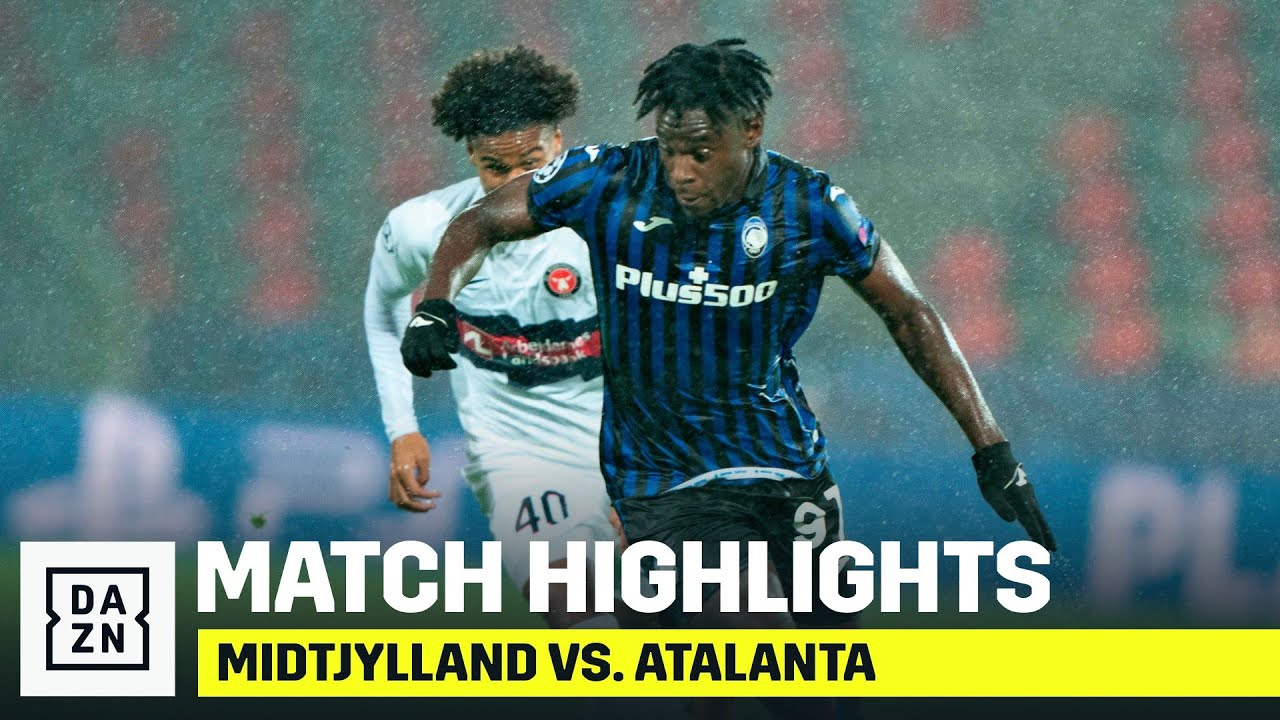 HIGHLIGHTS   Midtjylland vs. Atalanta (Champions League 2020-21)