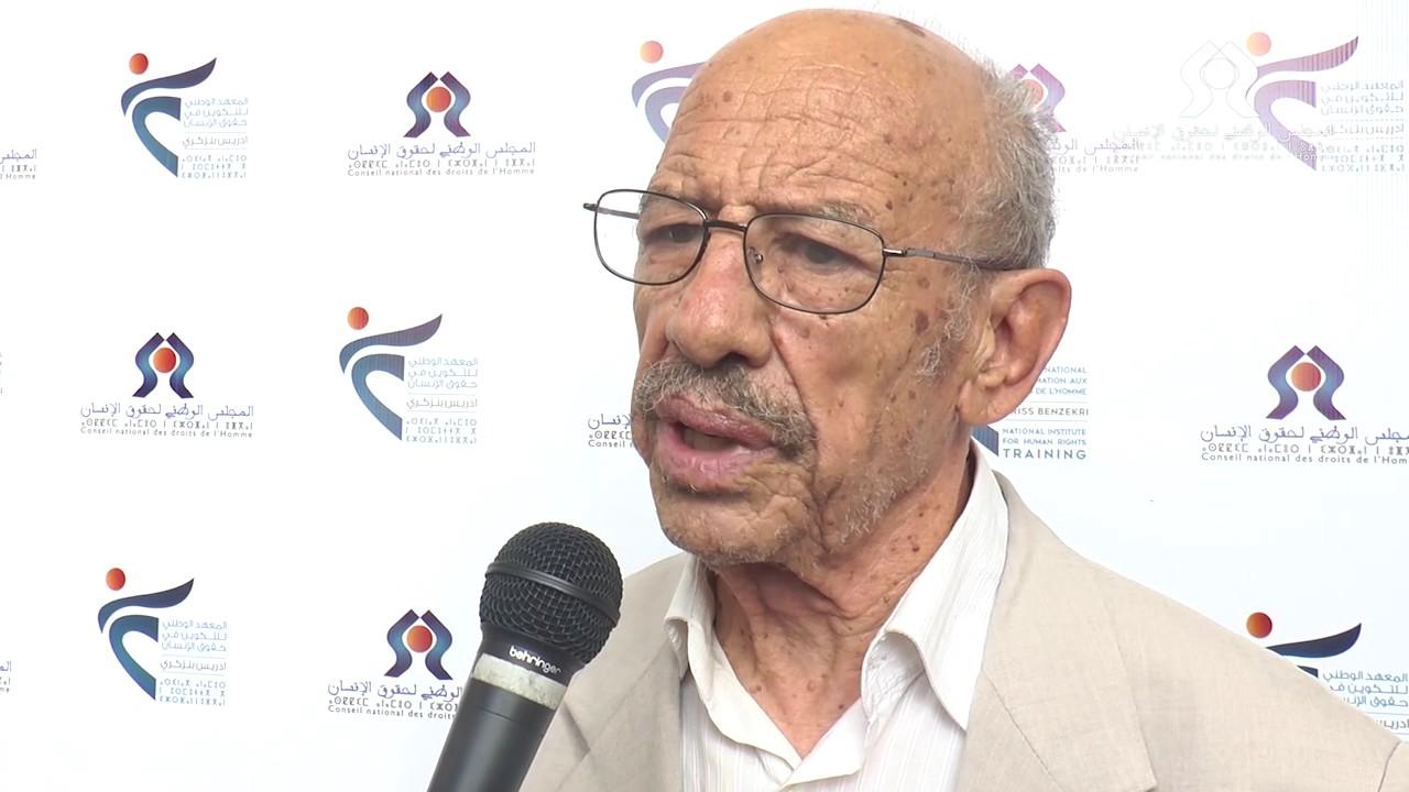 Mohamed Nechnach, membre fondateur de l'OMDH / DR.