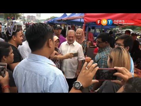 Sultan Johor kunjungi Bazaar Ramadan Bakar Batu