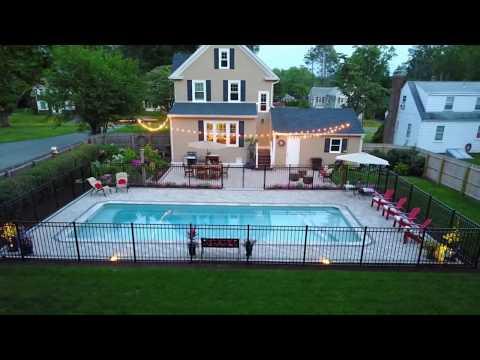 Scovill's Backyard Pool Patio