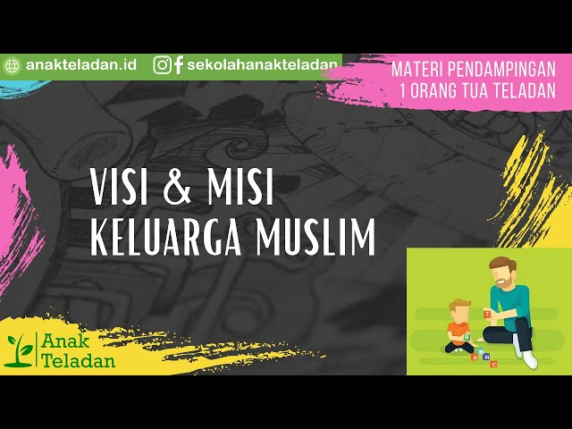 MATERI PENDAMPINGAN 1 : VISI & MISI KELUARGA MUSLIM