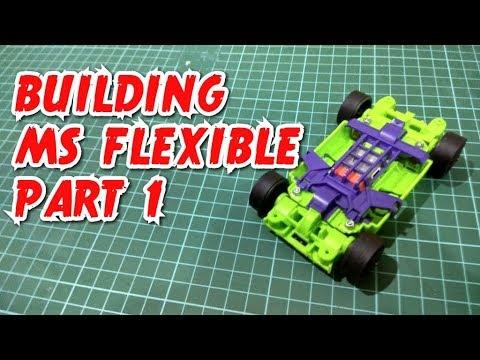 Building MS Flexible / Suspension (MSフレキ) Part 1 【ミニ四駆】Tamiya Mini 4WD #32