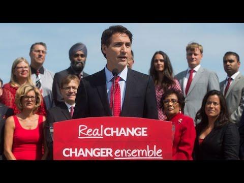 Justin Trudeau kicks off Liberal election campaign